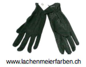 Fasnachts- Handschuhe Schwarz mit Noppen XL