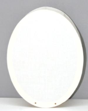 Laterne Kopflaterne gross oval ca.19x24cm