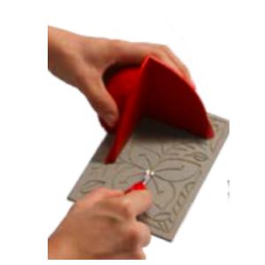 Linolschnittset Sicherheits- Handschutz Rot