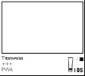 Talens Cobra Wasservermalbare Oelfarbe A 105 S1 Titanweiss