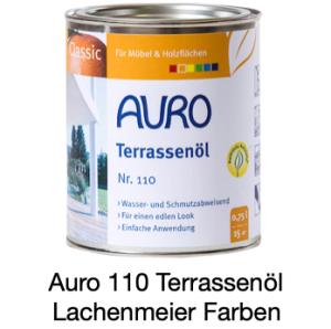 Naturfarben Auro 110-85 Terassenöl Classic Bankirai