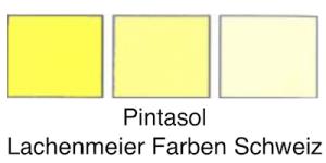 Pintasol Farbkonzentrat E-L 1 Gelb