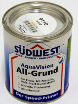SW AquaVision All-Grund Weiss 9110 WB Allprimer 989gr