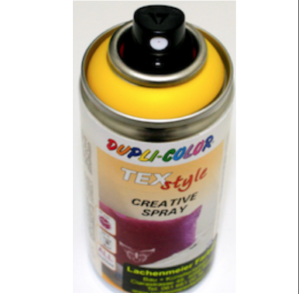 Duplicolor Texstyle Textilspray Stofffarbe Ral 1021 Gelb