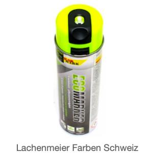 ColorMark EcoMarker Kreidespray Gelb Fluo für kurzfristige Markierungen