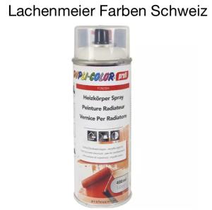 """DupliColor professional Heizkörperlack NCS S 0500N """"Weiss"""" Spray mit verstellbarer Düse Hitzefest ca. 150°C"""