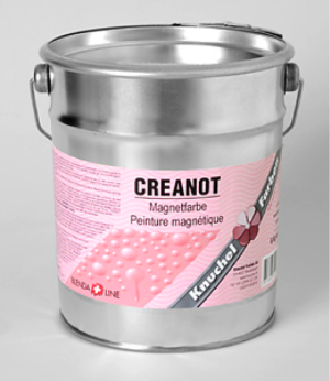 Creanot Magnetic Magnetfarbe WB Grau (6kg = 2.3L)
