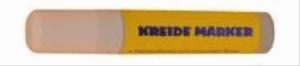 Kreideschreiber / Kreide Marker 15mm 720-1 Weiss trocken abwischbar