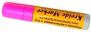 Kreideschreiber / Kreide Marker 15mm 720-2 Pink trocken abwischbar