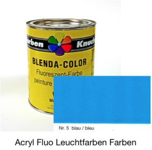 Blenda-Color Acryl Fluo WL-10 blue UV reflective paint