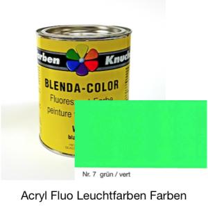 Blenda-Color Acryl Fluo WL-10 green UV reflective paint