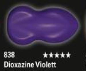 Schmincke Aerocolor Total Cover 838 Dioxazine Violett  Airbrushfarbe WB deckend