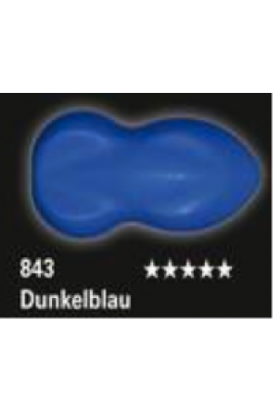 Schmincke Aerocolor Total Cover 843 Dunkelblau Airbrushfarbe WB deckend