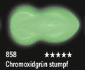 Schmincke Aerocolor Total Cover 858 Chromoxidgrün stumpf Airbrushfarbe WB deckend