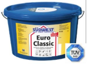 SW Euro Classic Innendispersion, Ral 9010, Altweiss, stupfmatt, waschbeständig 10L / ca 17,5kg