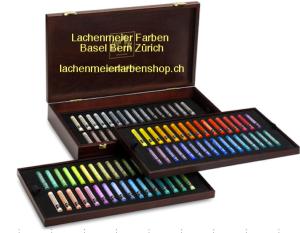 Caran d'Ache Artist Neopastel Set Holzkoffer 96 Farben
