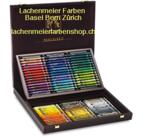 Caran d'Ache Classic Neocolor II Set Holzkoffer 84 Farben