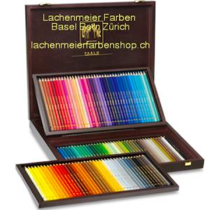 Caran d'Ache Artist Farbstift Pablo Holzkoffer zu 120 Farbstifte