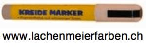 Kreideschreiber / Kreide Marker  5mm 510-1weiss trocken abwischbar