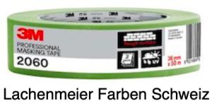3m Abdeckband 2060 36mm Grün für raue Oberflächen, 3 Tage