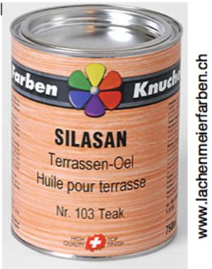 Silasan Terrassen-Oel 103 Naturoel Farbton: Teak