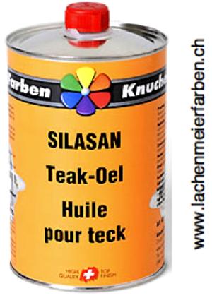 Silasan Teak-oel / Teakoel farblos für Harthölzer Innen und Aussen