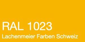 Farbkarte Norm Ral Karte Classic K6 RAL 1023 Verkehrsgelb K6 A4 Einzelbogen Handgefertigt