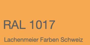 Farbkarte Norm Ral Karte Classic K6 RAL 1017 Safrangelb A4 Einzelbogen Original