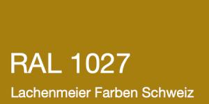 Farbkarte Norm Ral Karte Classic K6 RAL 1027 Currygelb A4 Einzelbogen Original