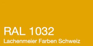 Farbkarte Norm Ral Karte Classic K6 RAL 1032 Gingstergelb A4 Einzelbogen Original