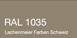Farbkarte Norm Ral Karte Classic K6 RAL 1035 Perlbeige A4 Einzelbogen Original