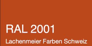 Farbkarte Norm Ral Karte Classic K6 RAL 2001 Rotorange A4 Einzelbogen Original