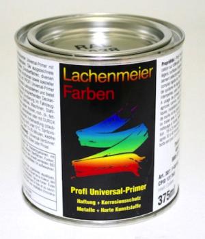 Profi Universalprimer Schwarz Ral 9005 Haftung + Korrosionsschutz / Metalle + Harte Kunststoffe 375ml