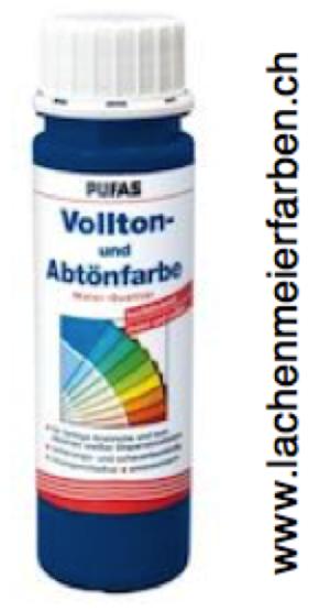 Pufas Vollton und Abtönfarbe 504 Blau Dispersion in MQ