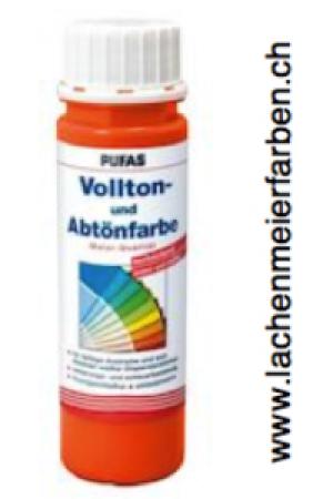 Pufas Vollton und Abtönfarbe 502 Orange Dispersion in MQ