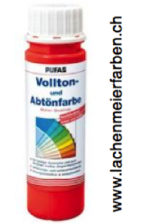 Pufas Vollton und Abtönfarbe 503 Rot Dispersion in MQ