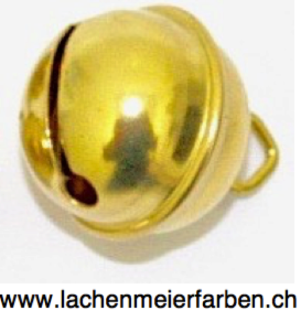 Fasnacht Glöckli / Gleggli Gold Messing 24mm /einzeln