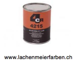 4CR 4215 Füller HS 2K Füller Low VOC 4:1 Weiss