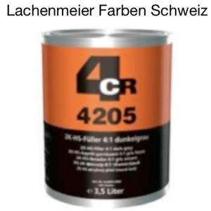 4CR 4205 Füller HS 2K Füller Low VOC 4:1 dunkelgrau