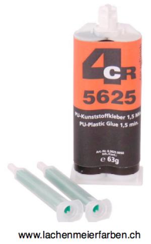 4CR 5625 PU 2K Kunststoffkleber 1,5 Min