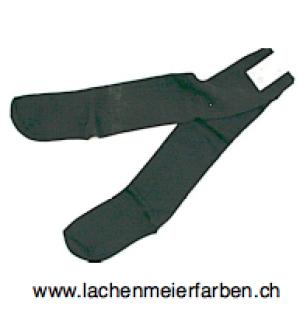 Fasnacht Waggis: Socken gestreift Schwarz Uni Gr 42 - 45