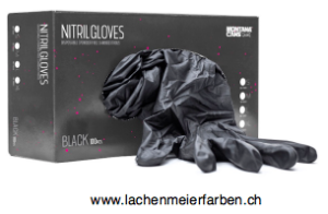 Handschuhe Nitril Schwarz L Schwarz ungepudert Pack 100 Stück