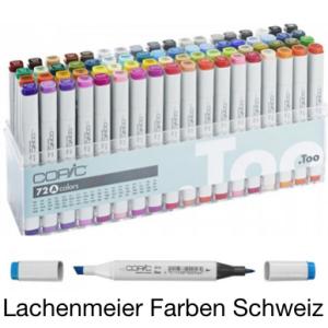 Copic Marker Set  72 Farben + Set A assotiert