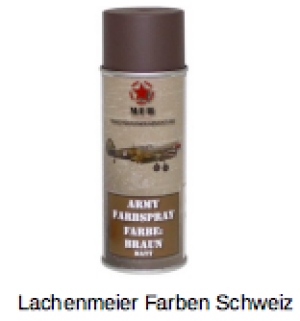 Army Farben Spray Matt Braun