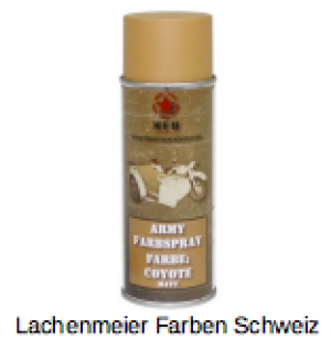 Army Farben Spray Matt Coyote