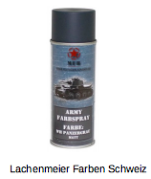 Army Farben Spray Matt Grau Panzergrau