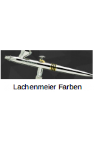 "Evolution Airbrushpistole Set: Solo Düse: 0,2mm, Fliessbecher: 2ml, Double-Action, Anschluss: 1/8"", vernickelt"