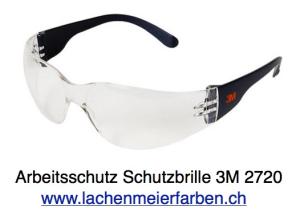 3m Augenschutz / Schutzbrille 2720 PC Clear AS/AF