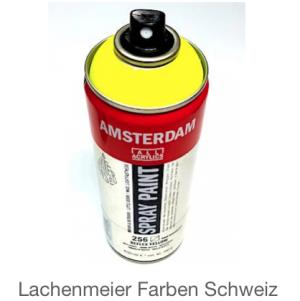 Talens Amsterdam Spray WB 256 Gelb Reflexgelb Fluo