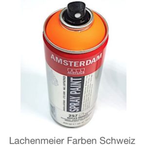 Talens Amsterdam Spray WB 257 Orange Reflexorange Fluo